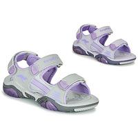 Čevlji  Otroci Športni sandali Kangaroos Sandalshine Siva / Vijolična
