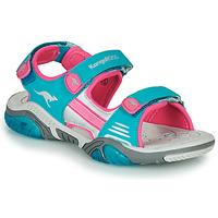 Čevlji  Otroci Športni sandali Kangaroos Sandalshine Modra / Rožnata