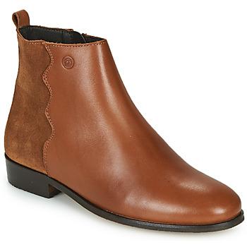 Čevlji  Ženske Polškornji Betty London HELOI Kamel