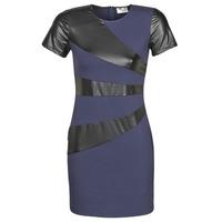 Oblačila Ženske Kratke obleke Moony Mood JOULOU Modra