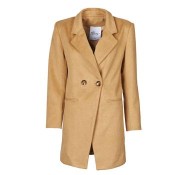 Oblačila Ženske Plašči Betty London LORDLY Bež