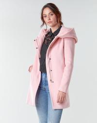 Oblačila Ženske Plašči Moony Mood NANTE Rožnata