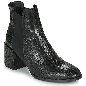 Čevlji  Ženske Gležnjarji Fericelli NONUTS Črna