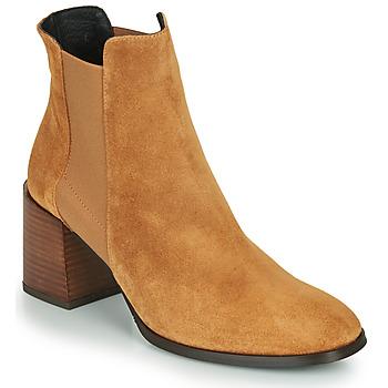 Čevlji  Ženske Gležnjarji Fericelli NONUTS Kamel