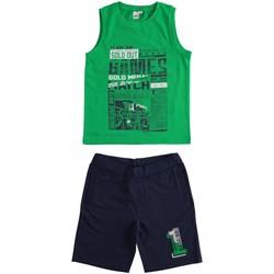 Oblačila Dečki Otroški kompleti Ido 4J019 Verde/blu