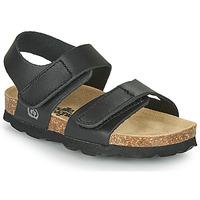 Čevlji  Dečki Sandali & Odprti čevlji Citrouille et Compagnie BELLI JOE Črna