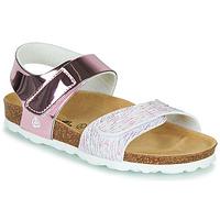 Čevlji  Dečki Sandali & Odprti čevlji Citrouille et Compagnie BELLI JOE Rožnata