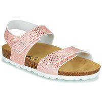 Čevlji  Deklice Sandali & Odprti čevlji Citrouille et Compagnie BELLI JOE Rožnata
