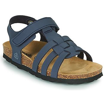 Čevlji  Dečki Sandali & Odprti čevlji Citrouille et Compagnie JANISOL Modra