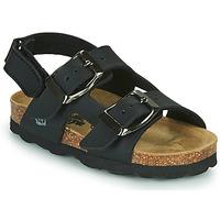 Čevlji  Dečki Sandali & Odprti čevlji Citrouille et Compagnie KELATU Črna