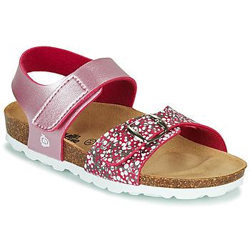 Čevlji  Deklice Sandali & Odprti čevlji Citrouille et Compagnie MIRTINO Rožnata