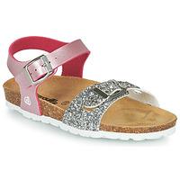 Čevlji  Deklice Sandali & Odprti čevlji Citrouille et Compagnie RELUNE Rožnata