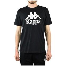 Oblačila Moški Majice s kratkimi rokavi Kappa Caspar Tshirt Črna