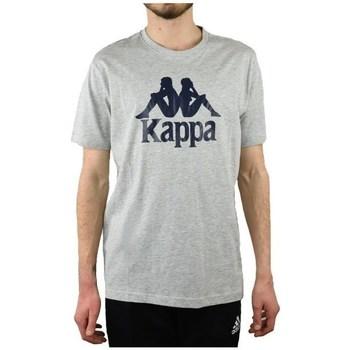 Oblačila Moški Majice s kratkimi rokavi Kappa Caspar Tshirt Siva