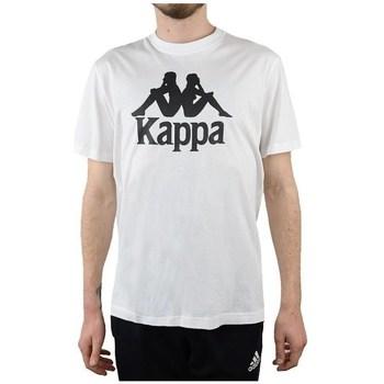 Oblačila Moški Majice s kratkimi rokavi Kappa Caspar Tshirt Bela