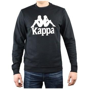Oblačila Moški Puloverji Kappa Sertum RN Sweatshirt Črna
