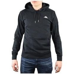 Oblačila Moški Puloverji Kappa Vend Hooded Črna