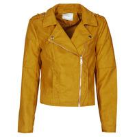 Oblačila Ženske Usnjene jakne & Sintetične jakne JDY JDYNEW PEACH Gorčica