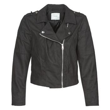 Oblačila Ženske Usnjene jakne & Sintetične jakne JDY JDYNEW PEACH Črna