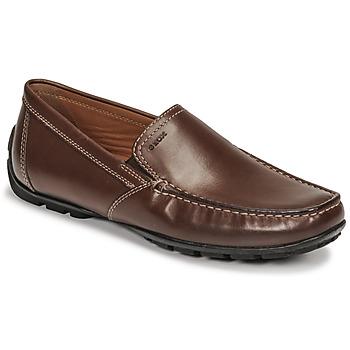Čevlji  Moški Mokasini Geox MONET Kostanjeva