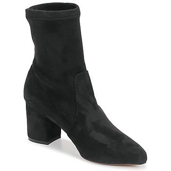 Čevlji  Ženske Gležnjarji Betty London NOUMET Črna