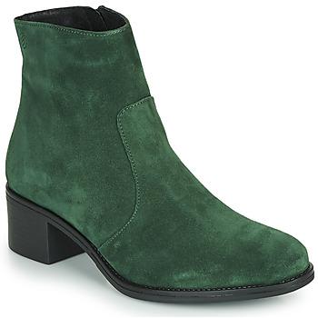 Čevlji  Ženske Gležnjarji Betty London NOUME Zelena