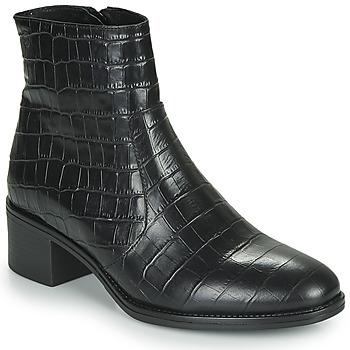 Čevlji  Ženske Gležnjarji Betty London NOUME Črna