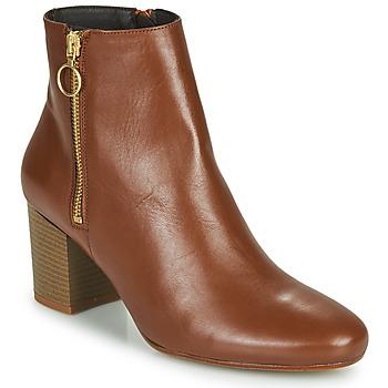 Čevlji  Ženske Gležnjarji Betty London NILIVE Kamel