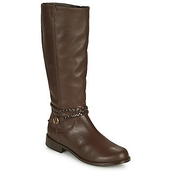 Čevlji  Ženske Mestni škornji    So Size AURELIO Kostanjeva