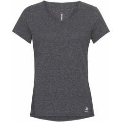 Oblačila Ženske Majice s kratkimi rokavi Odlo T-shirt femme  Lou Linencool gris