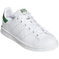 Čevlji  Nizke superge adidas Originals Stan Smith Junior Bela