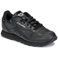 Čevlji  Otroci Nizke superge Reebok Classic CLASSIC LEATHER Črna