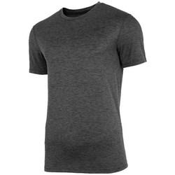 Oblačila Moški Majice s kratkimi rokavi 4F TSMF003 Grafitna