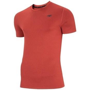 Oblačila Moški Majice s kratkimi rokavi 4F TSMF003 Rdeča