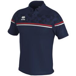 Oblačila Polo majice kratki rokavi Errea Polo  dominic bleu/marine/blanc