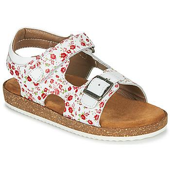 Čevlji  Deklice Sandali & Odprti čevlji Kickers FUNKYO Bela