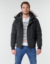 Oblačila Moški Puhovke Casual Attitude NIFFO Črna
