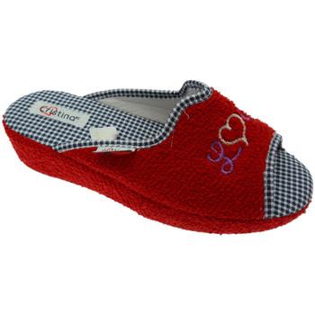 Čevlji  Ženske Nogavice Cristina CRIS24ros rosso