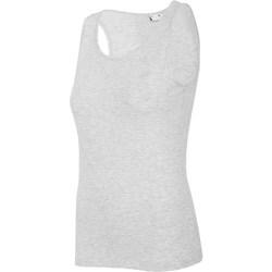 Oblačila Ženske Majice brez rokavov 4F TSD003 Siva