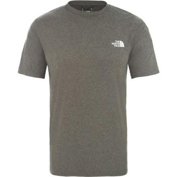 Oblačila Moški Majice s kratkimi rokavi The North Face Reaxion Amp Siva