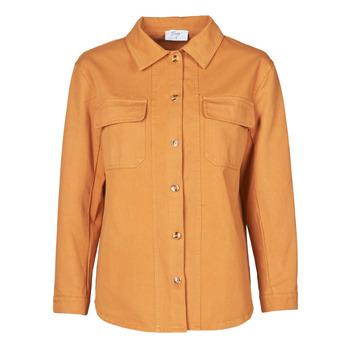 Oblačila Ženske Jakne & Blazerji Betty London NISOI Cognac