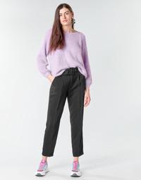 Oblačila Ženske Hlače s 5 žepi Betty London NOXE Črna