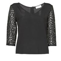Oblačila Ženske Topi & Bluze Betty London NIXE Črna