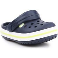 Čevlji  Otroci Cokli Crocs Crocband Clog K 204537-42K navy