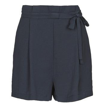Oblačila Ženske Kratke hlače & Bermuda Only ONLAMANDA Modra
