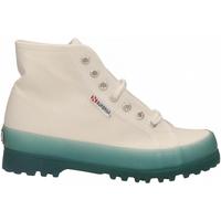Čevlji  Ženske Visoke superge Superga 2341-ALPINA JELLYGUM COTU a0a-white-blue-lt-crysta