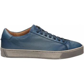 Čevlji  Moški Nizke superge Santoni DERBY 7 OCC. FORGOOSE azzurro