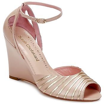 Čevlji  Ženske Sandali & Odprti čevlji Sarah Chofakian LA PARADE Rožnata / Zlata