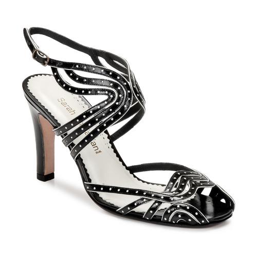 Čevlji  Ženske Sandali & Odprti čevlji Sarah Chofakian WINGS Črna / Zlata