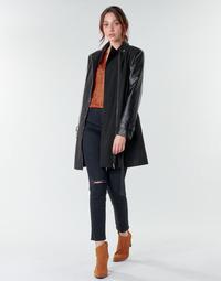 Oblačila Ženske Plašči Moony Mood NOUMEA Črna